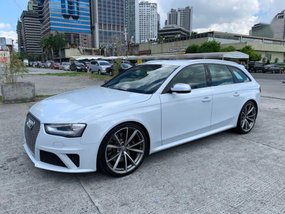 2nd Hand Audi Rs4 2014 Automatic Gasoline for sale in Pasig