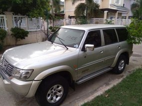 Silver Nissan Patrol 2002 for sale in Automatic