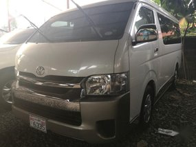 Selling Pearlwhite Toyota Grandia 2017 in Quezon City