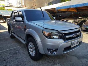 Silver Ford Ranger 2009 Automatic Diesel for sale