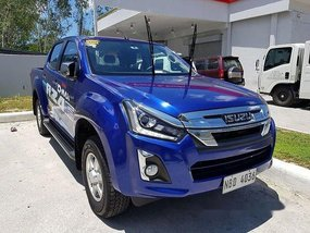 Blue Isuzu D-Max 2019 Automatic Diesel for sale