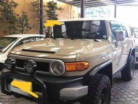 Selling Toyota Fj Cruiser 2017 Automatic Gasoline in Quezon City
