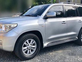 Silver Toyota Land Cruiser 2008 at 128000 km for sale