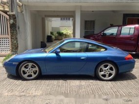Blue Porsche 911 Carrera 2001 Coupe at 37000 km for sale in Pasig City
