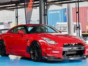 Red Nissan Gt-R 2010 at 13453 km for sale