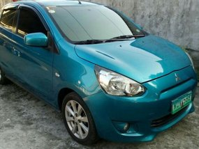 Sell 2nd Hand 2014 Mitsubishi Mirage Automatic Gasoline at 66000 km in Baliuag
