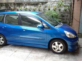 Sell Blue 2004 Honda Jazz Hatchback in Quezon City