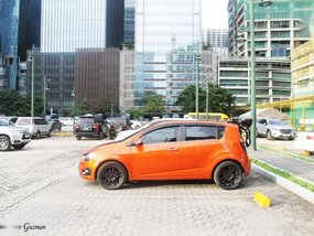 Sell 2nd Hand 2014 Chevrolet Sonic at 50000 km in Makati