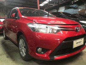 Sell Red 2016 Toyota Vios in Quezon City
