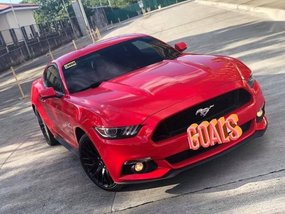 Sell Red 2016 Ford Mustang in Manila
