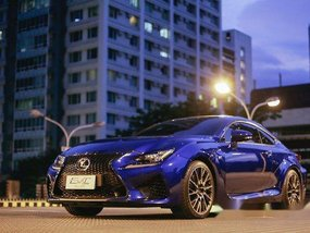 Blue Lexus Rc 2016 Automatic Gasoline for sale in Quezon City