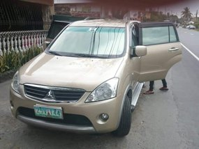 Selling Beige Mitsubishi Fuzion 2008 in Cavite City