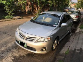 Toyota Altis 2012 Automatic Gasoline for sale in Manila