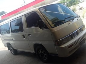 White Nissan Urvan 2012 for sale in Caloocan