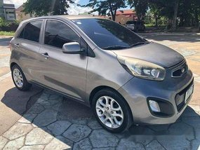 Sell Grey 2012 Kia Picanto at 10000 km in Talisay