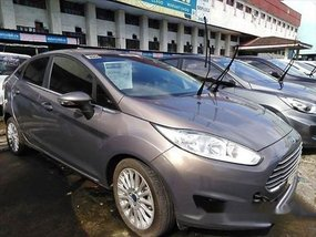 Sell Grey 2015 Ford Fiesta Gasoline Automatic