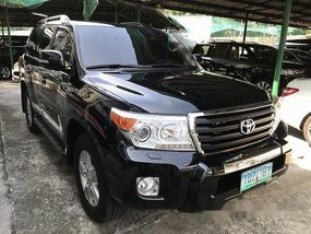 Black Toyota Land Cruiser 2012 at 60000 km for sale in Quezon City