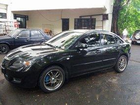 Sell Black 2007 Mazda 3 at 140000 km
