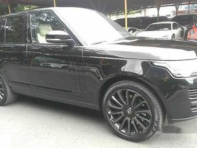 Selling Black Land Rover Range Rover 2018 Automatic Diesel at 82000 km