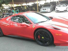 Sell Red 2013 Ferrari 458 in Manila