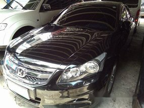 Selling Black Honda Accord 2012 at 73368 km in Parañaque