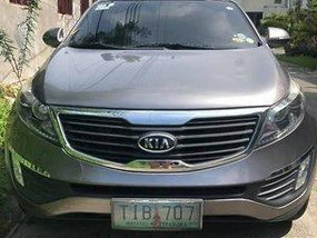 Grey Kia Sportage 2011 for sale Automatic