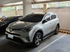 Silver Toyota Rav4 2016 at 4000 km for sale