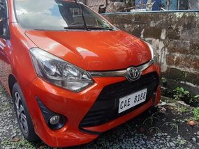 Sell 2nd Hand 2017 Toyota Wigo at 10000 km in Quezon City