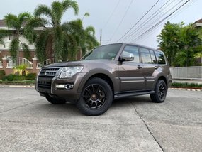 Sell 2nd Hand 2015 Mitsubishi Pajero Automatic Diesel in Manila