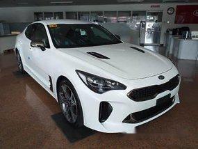 Brand New White Kia Stinger 2019 for sale