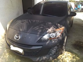 Selling Black Mazda 3 2012 Automatic Gasoline in Angat