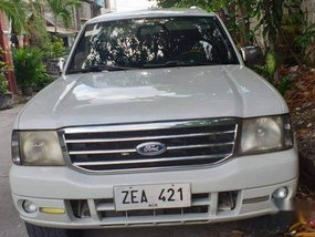 Sell White 2006 Ford Everest Automatic Diesel
