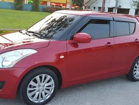 Red Suzuki Swift 2014 Manual Gasoline for sale in General Trias