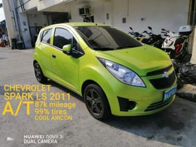Selling Chevrolet Spark 2011 Automatic Gasoline in Las Piñas