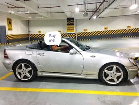 Sell Silver 2001 Mercedes-Benz Slk-Class Convertible at 53000 km in Muntinlupa
