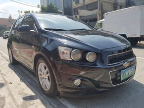 Selling 2nd Hand Chevrolet Sonic 2013 Hatchback in Quezon City