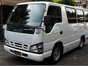 Selling White Isuzu I-van 2016 Van in Cainta