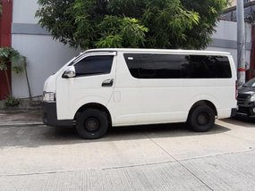 Selling Toyota Hiace 2017 at 20000 km in Quezon City