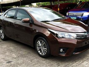Brown Toyota Altis 2015 for sale in Cainta