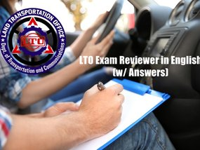 LTO Exam Reviewer with Answers in English