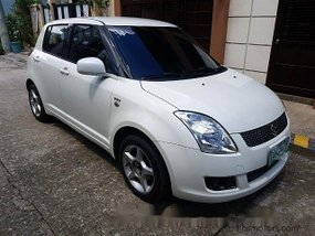 Sell Pearlwhite 2007 Suzuki Swift at 94000 km