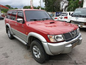 Selling Red Nissan Patrol 2001 at 141000 km