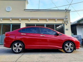 Red 2016 Honda City at 19000 km for sale