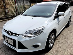 2nd Hand Ford Focus 2014 Hatchback at 50000 km for sale in Quezon City