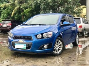 Selling Chevrolet Sonic 2013 Hatchback Automatic Gasoline in Makati