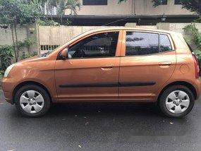 Sell Orange 2007 Kia Picanto at 33400 km
