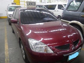 Sell 2nd Hand 2005 Mitsubishi Lancer Manual Gasoline at 90000 km in Quezon City