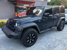Black Jeep Wrangler 2016 for sale in Pasig