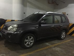 Grey Nissan X-Trail 2010 for sale in Makati