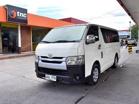 Selling Used Toyota Hiace 2015 at 100000 km in Lemery